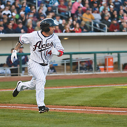 Images from Opening Day, Reno Aces vs. the Fresno Grizzlies at Aces Ballpark in Downtown Reno, Thursday, April 8, 2010. ..Photo by David Calvert/Reno Aces