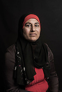 """Lebanon, Jbeil region. Nura Najjar, 35, is from Idlib. She was forced to flee Syria two years and a half ago, when their house was destroyed by a bombing. Since then she lives as refugee in Lebanon with her husband Abdullah (40) and their five children, Abdul (16), Taleeb (15), Osama (12), Nour (7) and little Mahmoud, who was born just few months ago. The most important object to her is her marriage ring. """"It reminds me the most beautiful day of my life, when we were a happy and united family. My relatives are still in Idlib but since a couple of months we are no longer able to be in touch with them. This is our deepest concern."""" said Nura. Alessio Romenzi"""