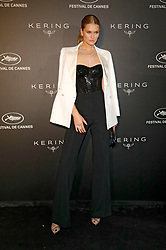 May 19, 2019 - Cannes, Alpes-Maritimes, Frankreich - Toni Garrn at the Kering and Cannes Film Festival Official Dinner during the 72nd Cannes Film Festival at Place de la Castre on May 19, 2019 in Cannes, France (Credit Image: © Future-Image via ZUMA Press)
