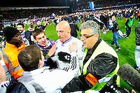 Joie Sebastien PUYGRENIER  - 07.04.2015 -  Auxerre / Guingamp - 1/2Finale de Coupe de France<br />Photo : Dave Winter / Icon Sport