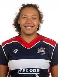 Rownita Marston of Bristol Rugby Ladies - Mandatory by-line: Dougie Allward/JMP - 25/08/2016 - FOOTBALL - Cleve RFC - Bristol, England - Bristol Rugby Ladies