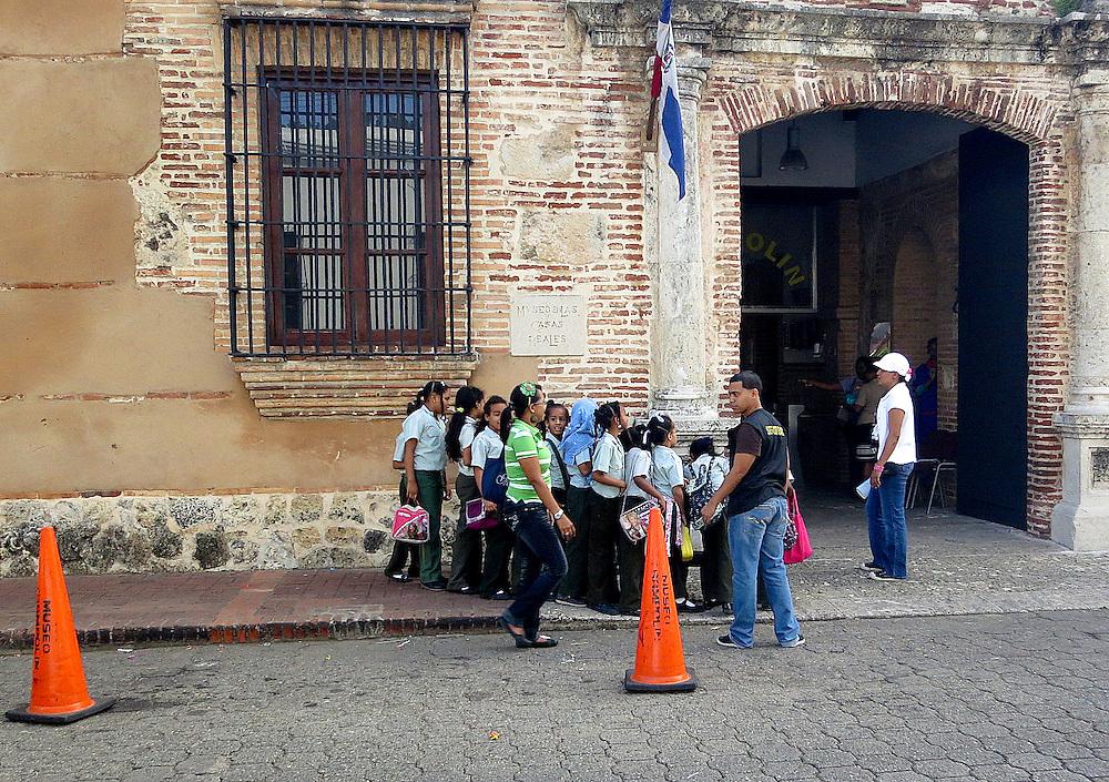 Schoolchildren, Zona Colonial, Santo Domingo, Dominican Republic