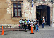 Schoolchildren, Zona Colonial, Santo Domingo, Dominican Republic