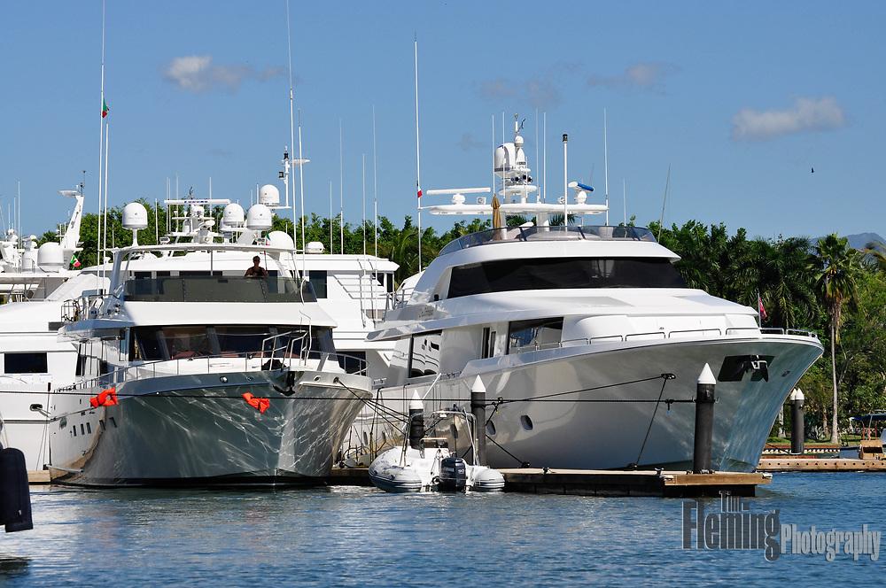 Expensive luxury yachts in Puerto Vallarta