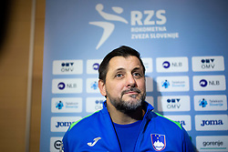 Ljubomir Vranjes head coach of Slovenian national team during media day of Slovenian national handball team on December 27, 2019 in Zrece, Slovenia. Photo By Grega Valancic / Sportida