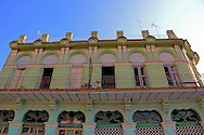 Architecture in Guanajay, Artemisa, Cuba.