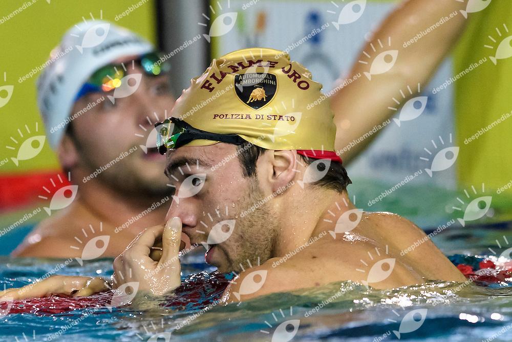 Gabriele Detti Centro Sportivo Esercito, Gregorio Paltrinieri Fiamme Oro 400m Stile Libero Uomini <br /> Riccione 16-12-2016 <br /> Campionati italiani assoluti invernali open <br /> Swimming Nuoto <br /> Foto Andrea Staccioli/Deepbluemedia/Insidefoto