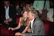 ROD STEWART, Once Gala night raising funds for Oxfam's Mother Appeal. Phoenix Theatre. Charing Cross Rd. . London. 17 March 2014.