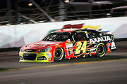 Jul 6, 2013; Daytona Beach, FL, USA; NASCAR Sprint Cup Series driver Jeff Gordon (24) during the Coke Zero 400 at Daytona International Speedway. Mandatory Credit: Douglas Jones-DDJ Sports Imaging