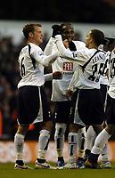 Photo: Olly Greenwood.<br />Tottenham Hotspur v Charlton Athletic. The Barclays Premiership. 09/12/2006. Spurs Teemu Tianio celebrates scoring