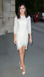 Linzi Stoppard attends 'Wedding Dresses 1775 - 2014' - VIP private view. Victoria & Albert Museum, London, United Kingdom. Wednesday, 30th April 2014. Picture by Chris Joseph / i-Images