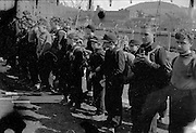 """""""Werewolves"""", German children caught bearing arms asgainst Americans. All were scared and wanted only to know when they could go hom"""