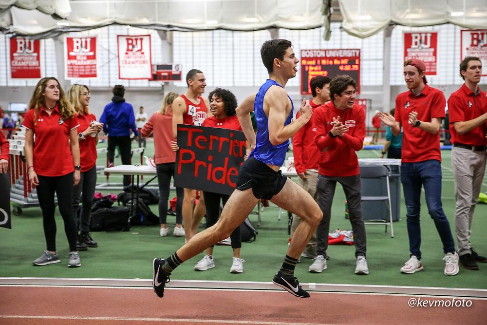 Bruce LeHane Scarlet and White<br /> Indoor Track & Field BU alumni mile