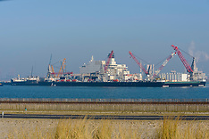 Maasvlakte, Rotterdam Harbour,  Zuid Holland, Netherlands