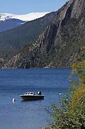 Lago, Lacar, lake, Lacar, Chile, Patagonia, Quilaquina
