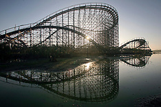 Abandoned Six Flags site