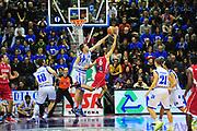 DESCRIZIONE : Sassari Lega A 2012-13 Dinamo Sassari - Scavolini Pesaro<br /> GIOCATORE :Michael Ignerski<br /> CATEGORIA :Stoppata<br /> SQUADRA : Dinamo Sassari<br /> EVENTO : Campionato Lega A 2012-2013 <br /> GARA : Dinamo Sassari - Scavolini Pesaro<br /> DATA : 24/02/2013<br /> SPORT : Pallacanestro <br /> AUTORE : Agenzia Ciamillo-Castoria/M.Turrini<br /> Galleria : Lega Basket A 2012-2013  <br /> Fotonotizia : Sassari Lega A 2012-13 Dinamo Sassari - Scavolini Pesaro<br /> Predefinita :