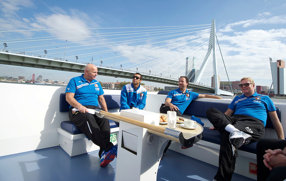 ROTTERDAM-26 september 2011-Feyenoord meets the Port. Photo: Gerrit de Heus