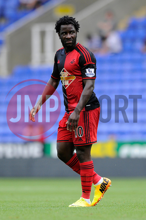 Swansea City's Wilfried Bony - Photo mandatory by-line: Dougie Allward/JMP - Mobile: 07966 386802 02/08/2014 - SPORT - FOOTBALL - Reading - Madejski Stadium - Reading v Swansea - Pre-Season Friendly