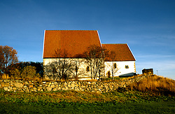 Norway: Norwegian Coast Voyages trip on the Nordlys, Bergen Line.  Medieval Church at Trondenes..Photo copyright Lee Foster, www.fostertravel.com..Photo #: norway103,.510/549-2202, lee@fostertravel.com.