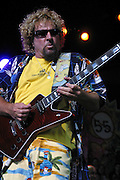 CHICAGO -- July 18: Sammy Hagar at the first night of Chicago's Loopfest, sponsored by 97.9 WLUP radio. (Photo by Matt Carmichael)