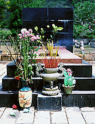 A grave at the cemetary of soldiers and prisoners who fought and died for the unification of Vietnam.