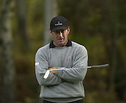 Photo Peter Spurrier.17/10/2002 Thur.CISCO World Matchplay Championships - Wentworth.Nick Faldo..[Mandatory Credit Peter Spurrier/ Intersport Images]