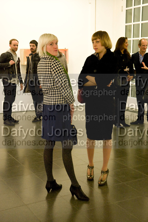 LAURA MAY; INGRID Z, Rebecca Warren exhibition opening at the Serpentine Gallery. London.  9 March  2009 *** Local Caption *** -DO NOT ARCHIVE -Copyright Photograph by Dafydd Jones. 248 Clapham Rd. London SW9 0PZ. Tel 0207 820 0771. www.dafjones.com<br /> LAURA MAY; INGRID Z, Rebecca Warren exhibition opening at the Serpentine Gallery. London.  9 March  2009