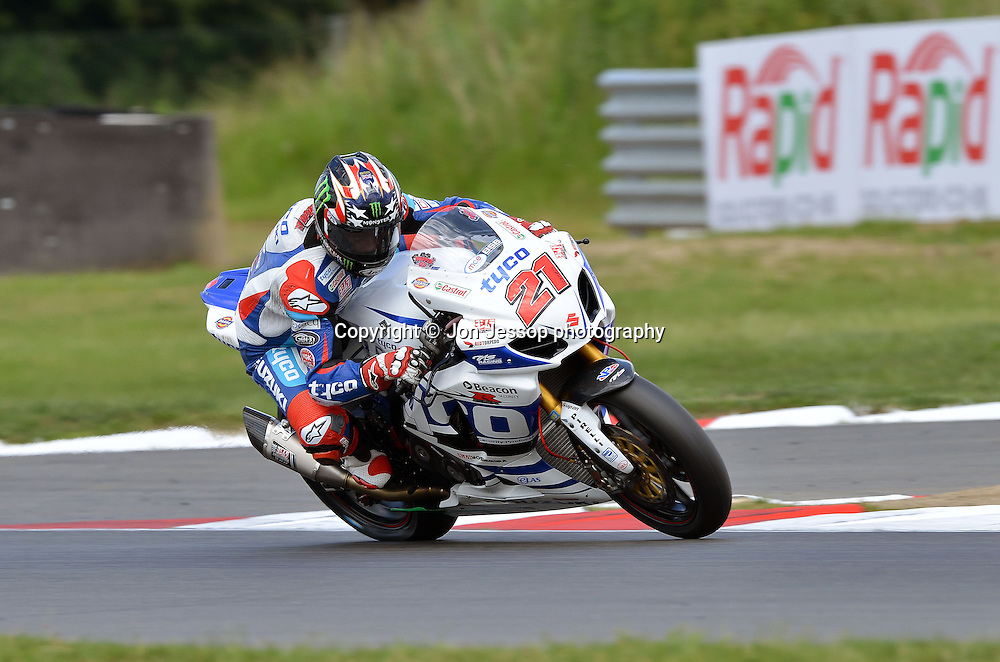 #21 John Hopkins Tyco Suzuki British Superbikes