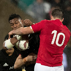 Waisake Naholo during game 9 of the British and Irish Lions 2017 Tour of New Zealand, the second Test match between  The All Blacks and British and Irish Lions, Westpac Stadium, Wellington, Saturday 1st July 2017<br /> (Photo by Kevin Booth Steve Haag Sports)<br /> <br /> Images for social media must have consent from Steve Haag