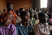 Students at a school in Kampala, Uganda. Photo by Daniel Hayduk
