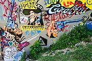Graffiti Park, Austin, Texas, May 11, 2013.