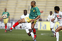 FOOTBALL - AFRICAN NATIONS CUP 2004 - 1/4 FINAL - 040207 - MALI v GUINEA - FREDERIC KANOUTE (MALI) - PHOTO JEAN MARIE HERVIO / FLASH PRESS<br />