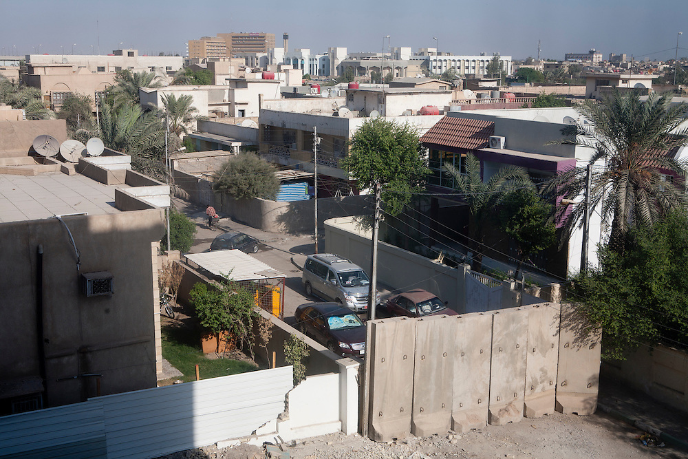A view of the city center on Thursday, October 21, 2010 in Basrah, Iraq.