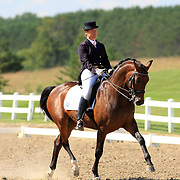 Jacqueline Brooks and Balmoral at the 2009 Cornerstone Summer Classic in Palgrave, Ontario.