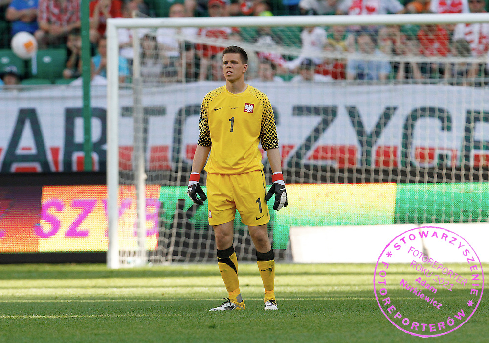 WARSZAWA 05/06/2011.FOOTBALL.INTERNATIONAL FRIENDLY.POLAND v ARGENTINA.WOJCIECH SZCZESNY /POL/.PHOTO BY: PIOTR HAWALEJ / WROFOTO
