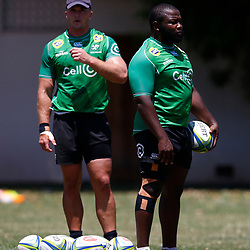 DURBAN, SOUTH AFRICA - JANUARY 15:  during the Cell C Sharks training session at Jonssons Kings Park on January 15, 2020 in Durban, South Africa. (Photo by Steve Haag/Gallo Images)
