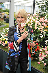 JOANNA LUMLEY at the RHS Chelsea Flower Show 2009 held inthe gardens of the Royal Hospital Chelsea on 18th May 2009.
