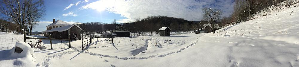 Risdon Photo Panoramic snow landscape photography