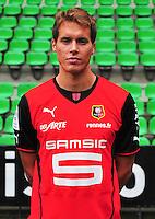 Anders KONRADSEN - 19.09.2013 - Photo officielle - Rennes - Ligue 1<br /> Photo : Philippe Le Brech / Icon Sport