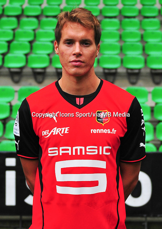 Anders KONRADSEN - 19.09.2013 - Photo officielle - Rennes - Ligue 1<br /> Photo : Philippe Le Brech / Icon Sport