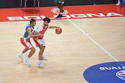 Vitali Luca,Cinciarini Andrea<br /> Nazionale Senior maschile<br /> Allenamento<br /> World Qualifying Round 2019<br /> Bologna 12/09/2018<br /> Foto  Ciamillo-Castoria / Giuliociamillo