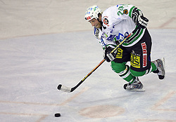 Tomaz Vnuk of ZM Olimpija at ice hockey matchZM Olimpija vs Liwest Linz in second round of semi-final of Ebel League (Erste Bank Eishockey Liga),  on February 28, 2008 in Arena Tivoli, Ljubljana, Slovenia. Win of ZM Olimpija 3:2. (Photo by Vid Ponikvar / Sportal Images)