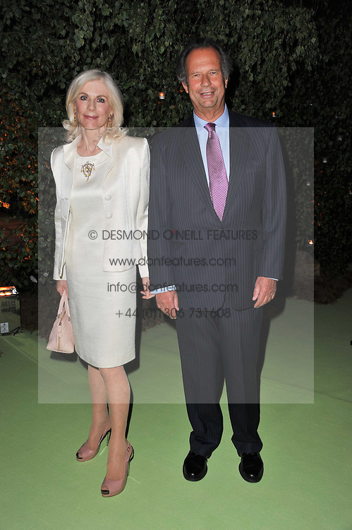 The EARL & COUNTESS OF CHICHESTER at a dinner hosted by Cartier in celebration of the Chelsea Flower Show held at Battersea Power Station, 188 Kirtling Street, London SW8 on 23rd May 2011.