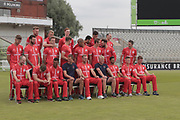 Fun during Lancashire T20 squad during the Lancashire County Cricket Club T20 Media Day at the Emirates, Old Trafford, Manchester, United Kingdom on 1 June 2018. Picture by George Franks.