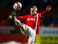 Football<br /> Coca-Cola Div 1<br /> Charlton Athletic Vs Hartlepool United at The Valley<br /> Nicky Bailey of Charlton Athletic<br /> 19/01/2010. Credit: Colorsport / Kieran Galvin