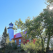The Eagle Harbor Lighthouse was built in 1871, and is still in beautiful condition. It is maintained by the Keweenaw County Historical Society as a museum, and the light is still maintained, in the tower, by the US Coast Guard.
