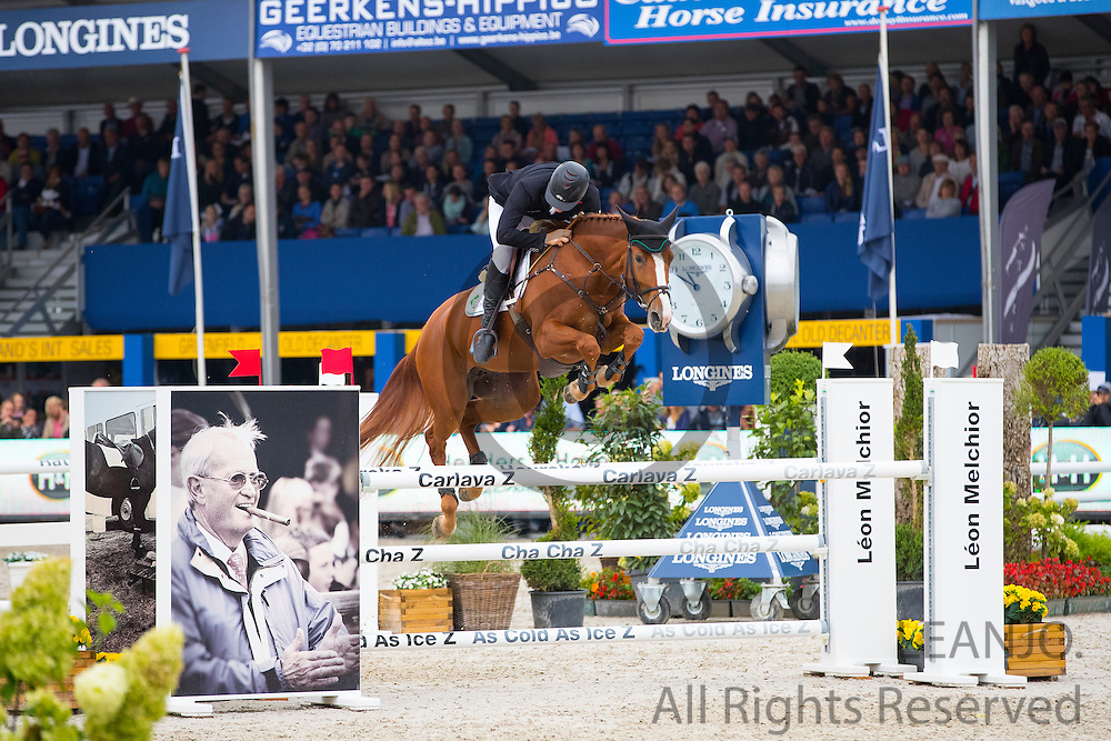 Thomas Mertens - Gintura<br /> FEI World Breeding Jumping Championships for Young Horses 2016<br /> © DigiShots