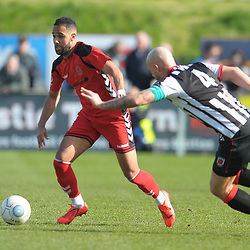 TELFORD COPYRIGHT MIKE SHERIDAN 6/4/2019 - Brendon Daniels of AFC Telford during the Vanarama Conference North fixture between Chorley FC and AFC Telford United at Victory Park