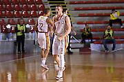 esultanza Gabriele Benetti <br /> Unicusano Roma - Lighthouse Trapani<br /> Campionato Basket LNP 2016/2017<br /> Roma 08/12/2016<br /> Foto Ciamillo-Castoria